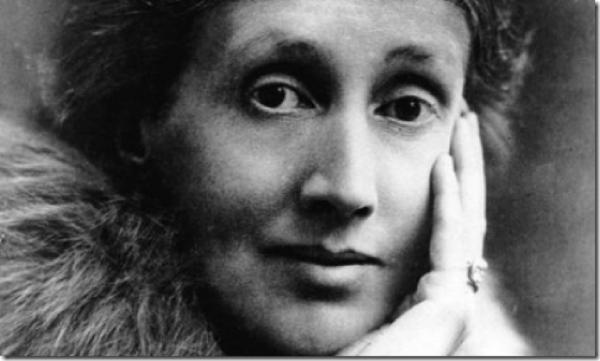 Virginia Woolf tahta başında
