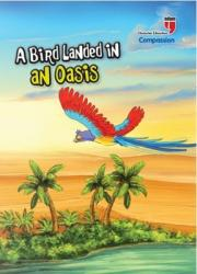 A Bird Landed In An Oasis Compassion