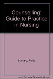 Counselling: Guide to Practice in Nursing