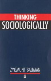 3. Thinking Sociologically
