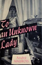 To an Unknown Lady