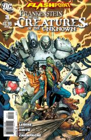 Flashpoint: Frankenstein and the Creatures of the Unknown Vol 1 3