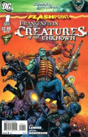 Flashpoint: Frankenstein and the Creatures of the Unknown Vol 1 1