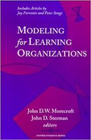 Modeling For Learning Organizations