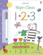 123 (Usborne Wipe Clean Books)