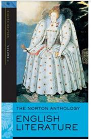 1. The Norton Anthology English Literature (Volume 1)