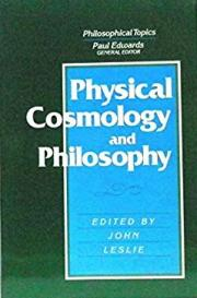 Physical Cosmology and Philosophy