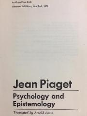 Psychology and Epistemology