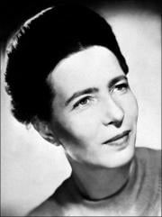4. Simone de Beauvoir