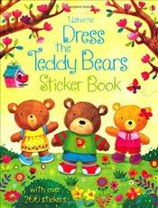 Dress the Teddy Bears Sticker Book